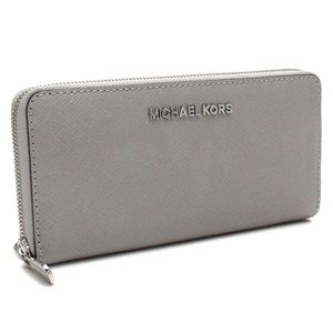 Michael Kors Jet Set Zip Around Large Wallet